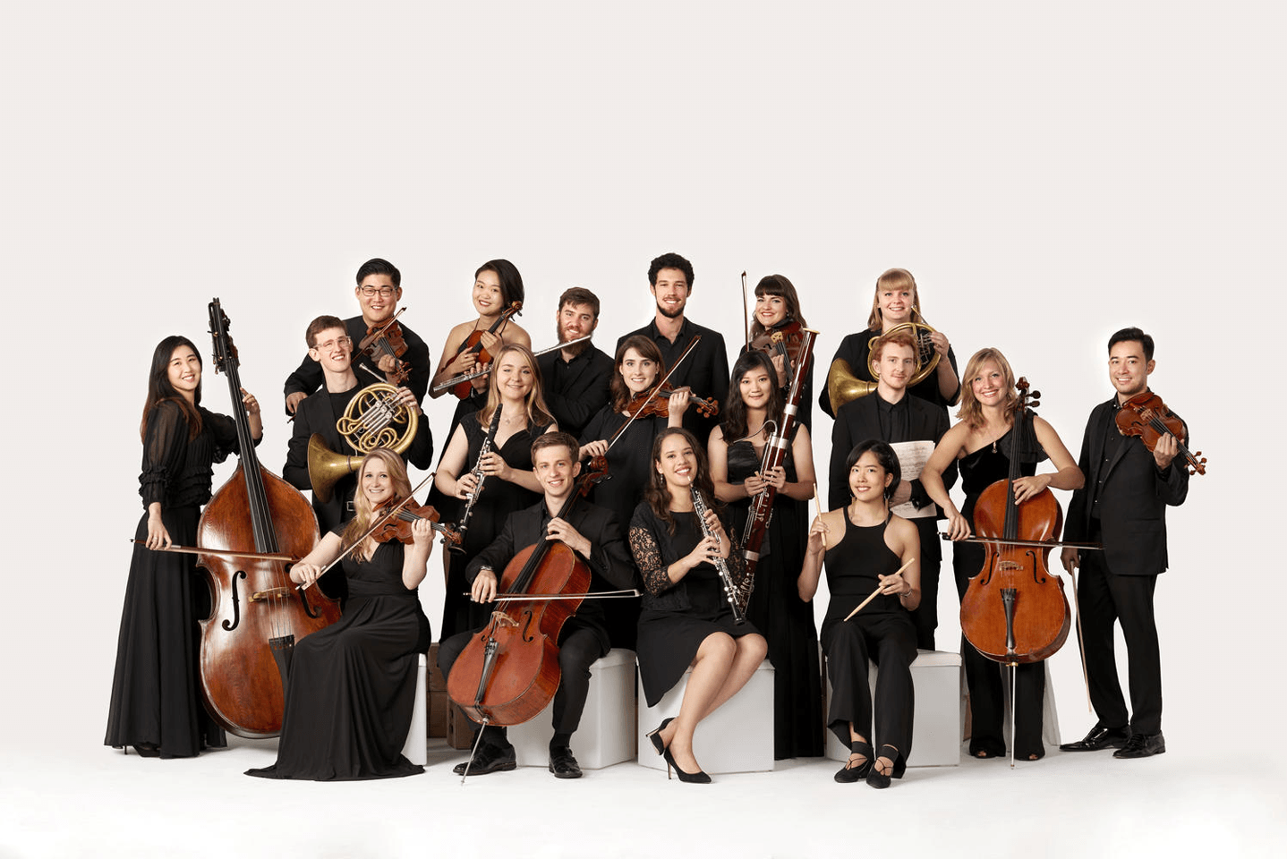 carnegie's ensemble connect musicians portrait